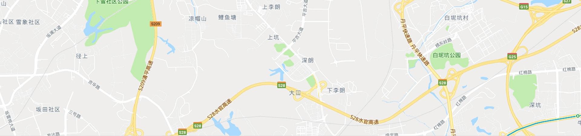 在谷歌地图中找到我