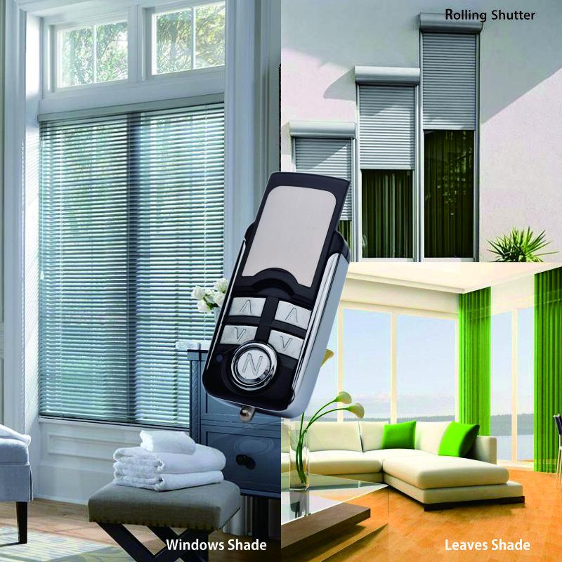 金属无线遥控器YET082