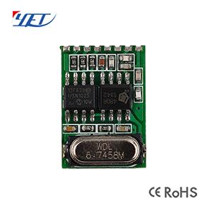无线发射接收模块YET215超外差带解码3-5V