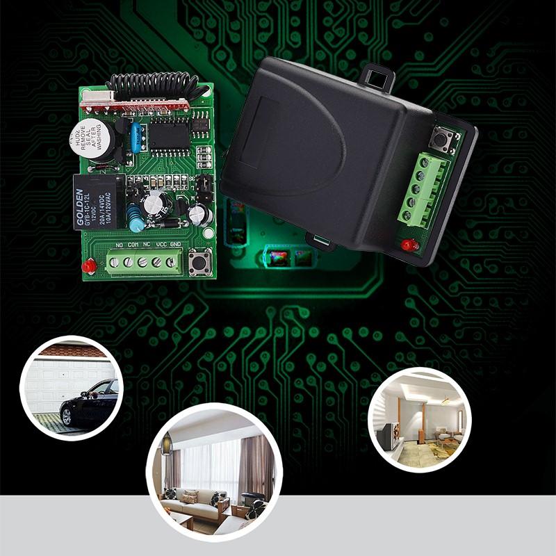 无线智能接收控制器YET401PC-HCS301