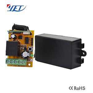 一路12V/24V无线智能接收控制器YET401-X.PC