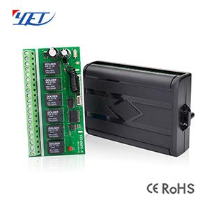 无线智能接收控制器YET406PC-X六路通用