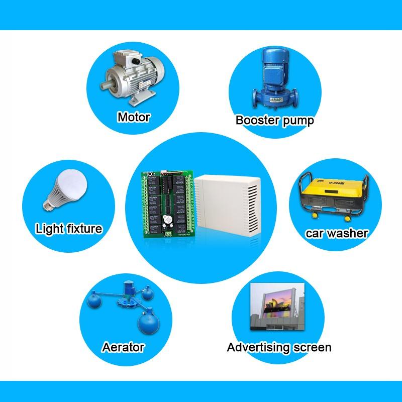 无线智能接收控制器YET412PC