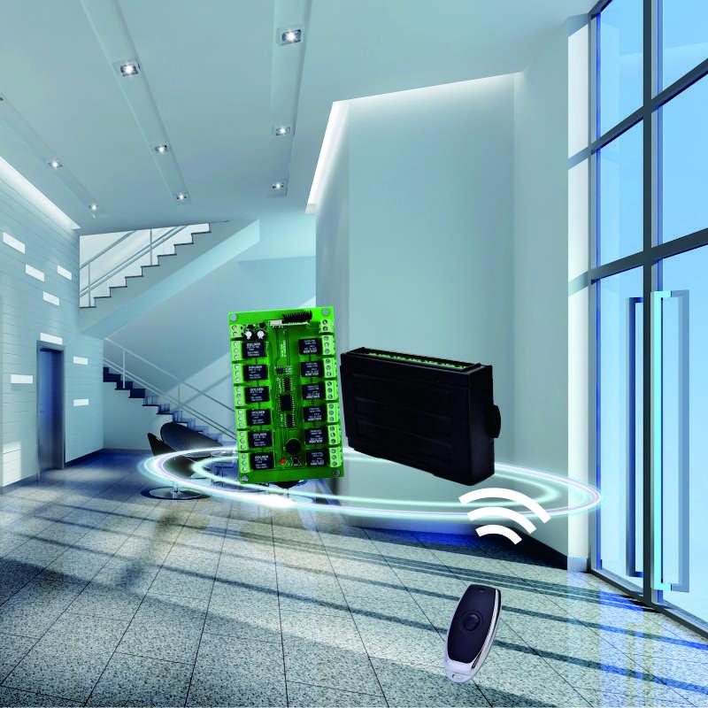 无线智能接收控制器YET412PC-X