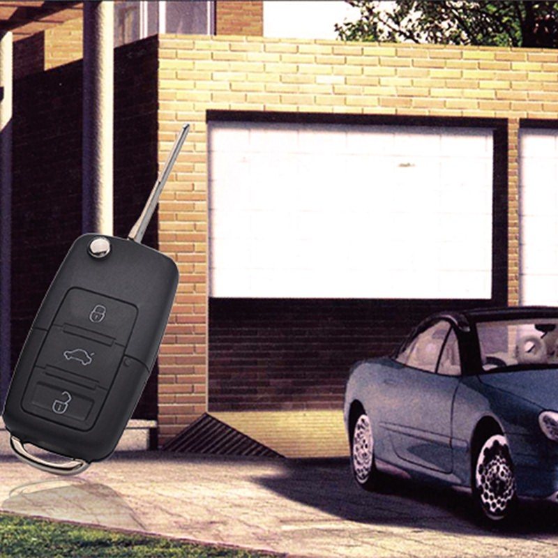 汽车遥控器能控制汽车。