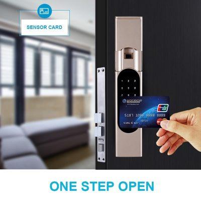 无线智能门锁指纹锁YET903