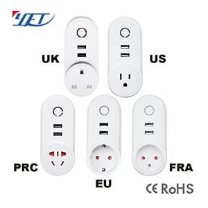 智能wifi插座YET6003WF支持USB