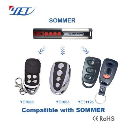 与国外品牌SOMMER兼容的RF无线遥控器