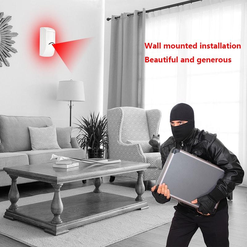 有线红外/微波红外入侵探测器YET603应用