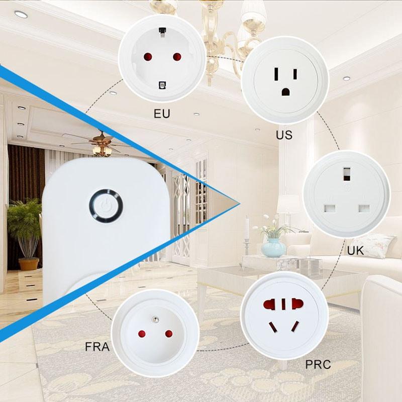 wifi智能插座有5种规格。