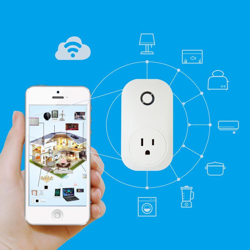 wifi智能插座可用于任何电器。
