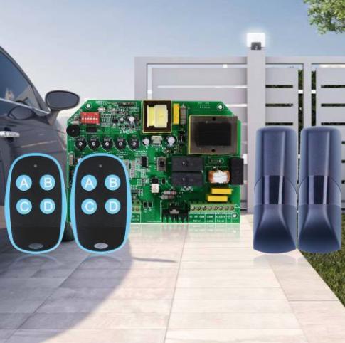 车库门控制器遥控系统组成及其价格